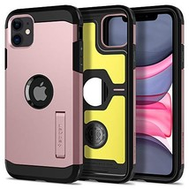 Spigen Tough Armor Designed for Apple iPhone 11 Case (2019) - XP Rose Gold - $22.52