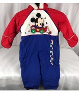 Vintage 1984 Baby Mickey by mighty-mac one piece romper outfit size 18 ... - $27.72