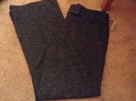 d01f675a4e7 NWT WOMENS APT.9 petite 8 8p maxwell dress pants black heather stretch new -