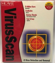 McAfee Security VirusScan Windows ME and 2000 New Sealed NOS Format CD Brand New - $29.39