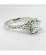 3.00Ct Round Cut White Three Diamond Solid Engagement Ring 925 Sterling ... - $80.19