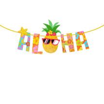 Aloha Banner Party Decoration Supplies Hawaii Theme Summer Beach Garden ... - £4.05 GBP