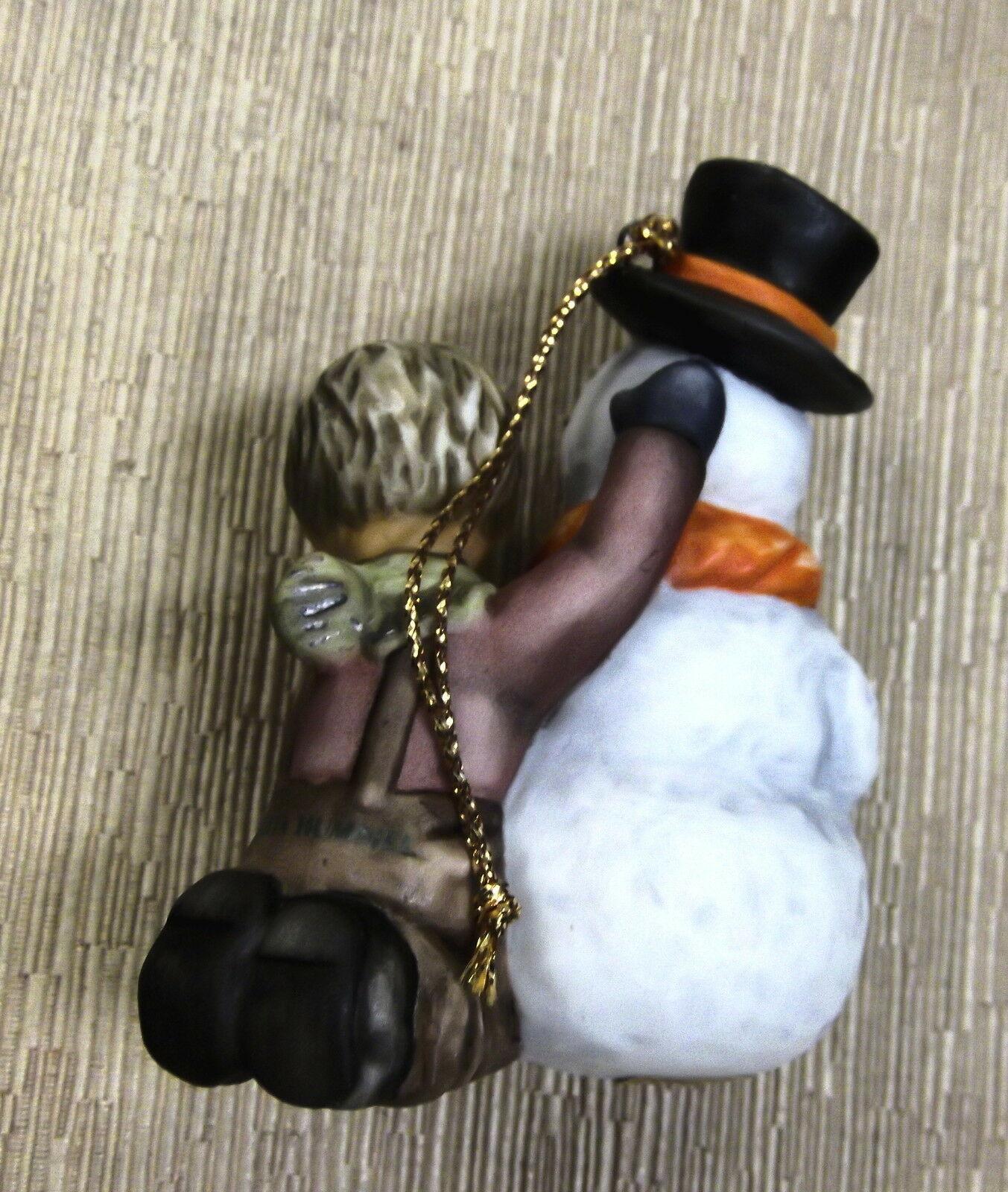 Goebel Berta Hummel My First Snowman Ornament #935121