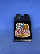 Blue Alien Stitch Invades Series Lady and the Tramp Disney Pin Spaghetti... - $19.99