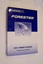2001 subaru forester owners manual new original - $10.88