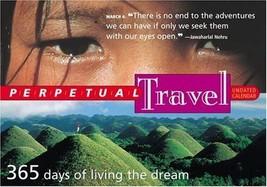 Perpetual Travel Calendar (Page-A-Day Perpetual Undated Calendars) Workm... - $29.95