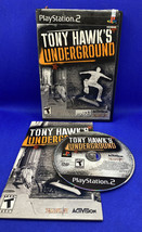 Tony Hawk's Underground (Sony PlayStation 2, 2003) PS2 CIB Complete, Tested! - $11.99