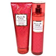 New Lot Bath & Body Works Fragrance Spray & Body Lotion You're the One BBW - $29.99
