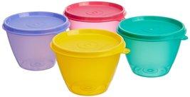 Tupperware Bowled Over Plastic Container Set, 430ml, Set of 4, Multicolour - $37.99