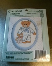 Cherised Teddies You Better Be Good Counted Cross Stitch Kit 139-04 Janlynn - $14.99