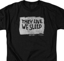 They Live t-shirt They Live We Sleep 80s horror sci-fi graphic tee UNI610 image 3