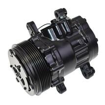 A-Team Performance HC5005C A/C Compressor Sanden SD-7 Type Aluminum Black image 2