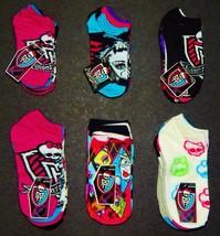 Monster High No Show o Rodilla Alto Mutli-Pack Calcetines Infantil/Juven... - $10.26+