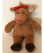 "Build A Bear Workshop BABW Christmas Reindeer 16"" Brown Plush Stuffed An... - $9.99"