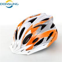 2017 Hot new Bike Cycling Helmet EPS+PVC Ultralight Mountain road orange... - $32.37