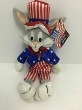 "Bugs Bunny Stars And Stripes Bean Bag 11"" Plush  - $13.78"