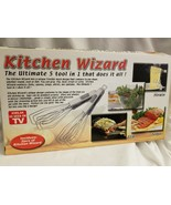 Kitchen Wizard As Seen On TV Ultimate 5 Tool In 1 - New in the box - $9.85