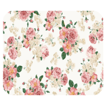 Mouse Pad Hot Nature Editions Beautiful Flower Rose Green Garden For Game Anime - $6.00