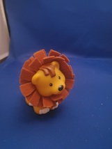 Fisher Price Little People Touch Feel Hair Ark Zoo Lion Mane  - $5.00