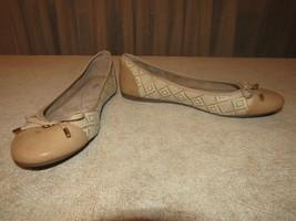 Lacy Bass Tan Raffia Size 9M Shoes Slides Ballet - $18.53
