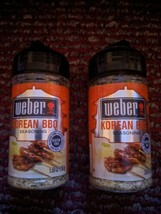 2 Weber Korean BBQ Grilling Seasoning 5.5 Oz Each  - $11.75