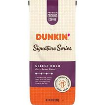 Dunkin' Donuts Ground Coffee, Signature Series Select Bold Blend Dark Ro... - $16.99