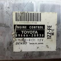 00 2000 Toyota Celica MT 1.8L ECU ECM engine control module OEM 89666-20030  - $49.49