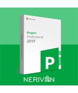 Microsoft Project 2019 Professional 32/64 Bit Key  - $69.89