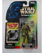 1997 Star Wars POTF Endor Rebel Soldier Freeze Frame Action Slide Action... - $15.00