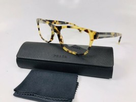 ✳ New Authentic Prada VPR 19P 7S0-101 Havana Eyeglasses 53mm with Case & Cloth - $157.06