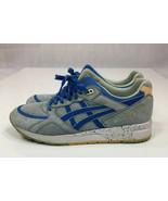 Asics H615L Gel-Lyte Speed Gray Green/ Blue/White Running Shoes Men US S... - $31.46