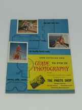 1956 Catalog and Guide to Fun In Photography - $19.79