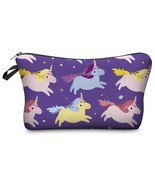 Unicorn 3d Printing Cosmetic Bag Women Makeup Bag 2017 Fashi 3 - $5.49