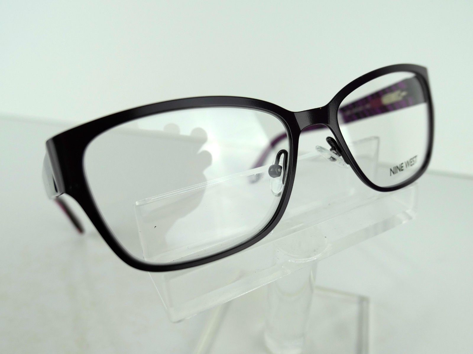 Nine West NW 1067 (535) Satin Amethyst  51 x 16 135 mm Eyeglass Frames