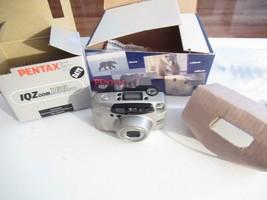 VINTAGE CAMERA - PENTAX- IQZOOM160 CAMERA- BOXED- G3 - $24.49
