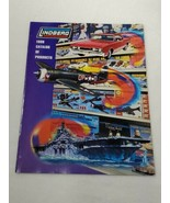 VTG 1998 Lindberg Catalog plastic Model Kits 23 color pages (A16) - $14.85