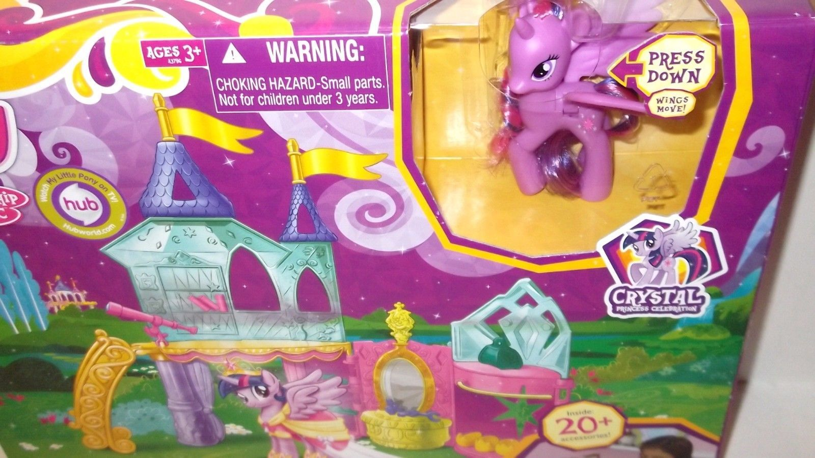Primary image for My Little Pony ✰ Crystal Princess Palace ✰ Playset Princess Twilight Sparkle MLP