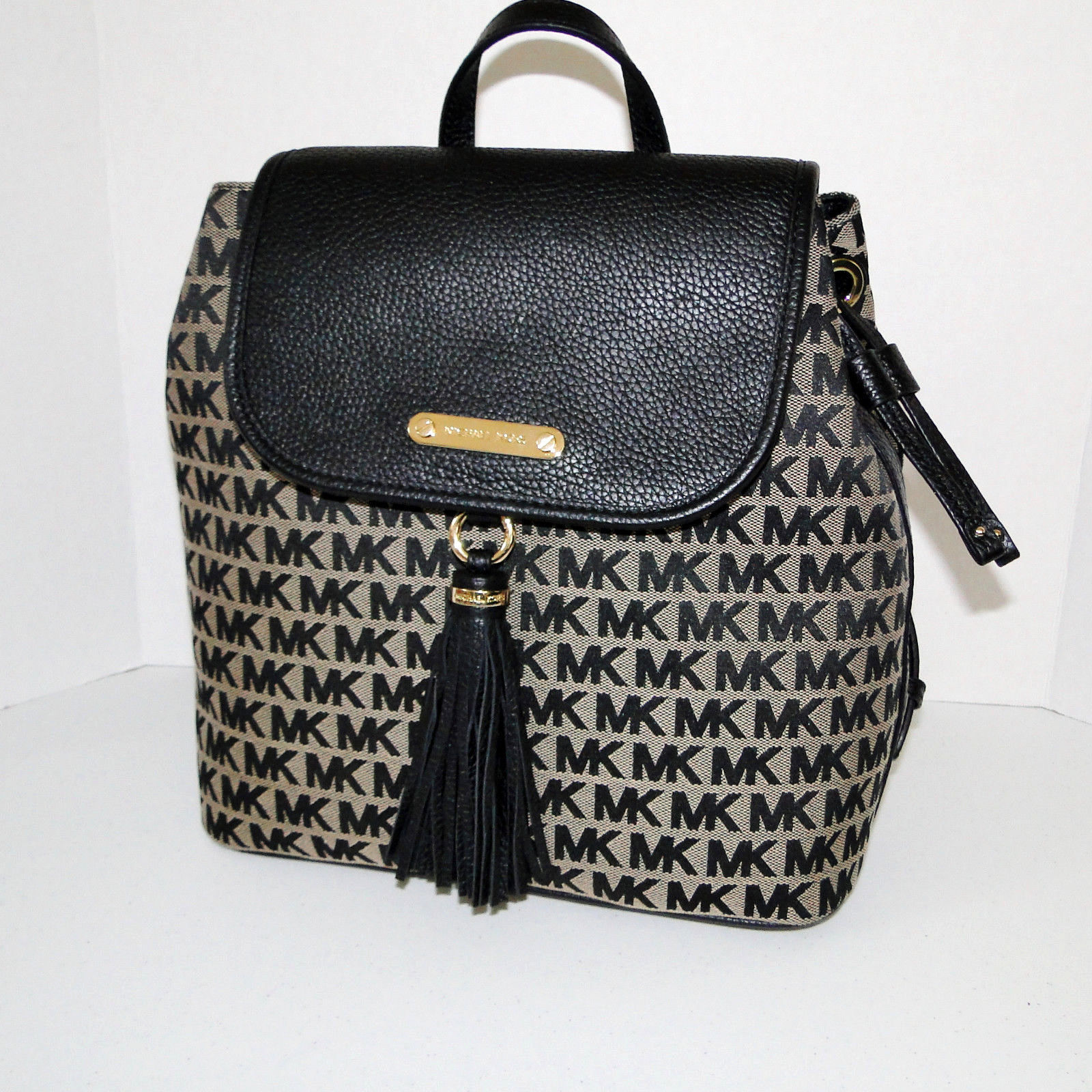 Michael Kors Large Bedford Signature Backpack NWT
