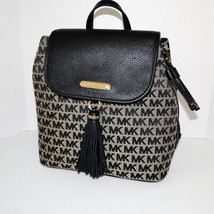 Michael Kors Large Bedford Signature Backpack NWT image 1