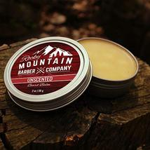 Beard Balm - Classic Unscented - 100% Natural - Premium Wax Blend with Nutrient  image 4