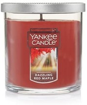 Yankee Candle Small Tumbler Jar Dazzling Red Maple Scented 7 oz - $18.00