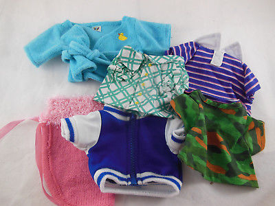 Primary image for GANZ WEBKINS 6 pieces og Clothing clothes tops and capelet Lot