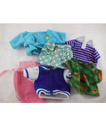 GANZ WEBKINS 6 pieces og Clothing clothes tops and capelet Lot - $13.26