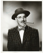 GROUCHO MARX SIGNED 8x10 PHOTOGRAPH. Autograph with his full name.  - $198.00