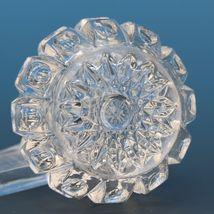 Vintage EAPG Pressed Glass Open Salt Baby Block & Thumbprint Westmoreland image 3