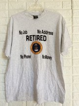 Vintage SOFFE'S CHOICE 1980s RETIRED Air Force No Job Single Stitch Tee ... - $39.59