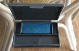 Avon Silk Finish Eyeshadow Single Passionate Blue Htf - $4.37