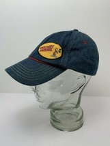 Mickey Mouse Denim Hat Disney Accent Stitching Adjustable Excellent - $16.88