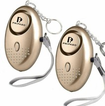 Pripaso Personal Alarm Emergency Alarm Keychain with LED Flashlight 2 PK - $7.69