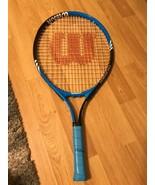 Wilson Federer 23 Tennis Racquet 3 5/8 Grip Blue / Black - $24.74